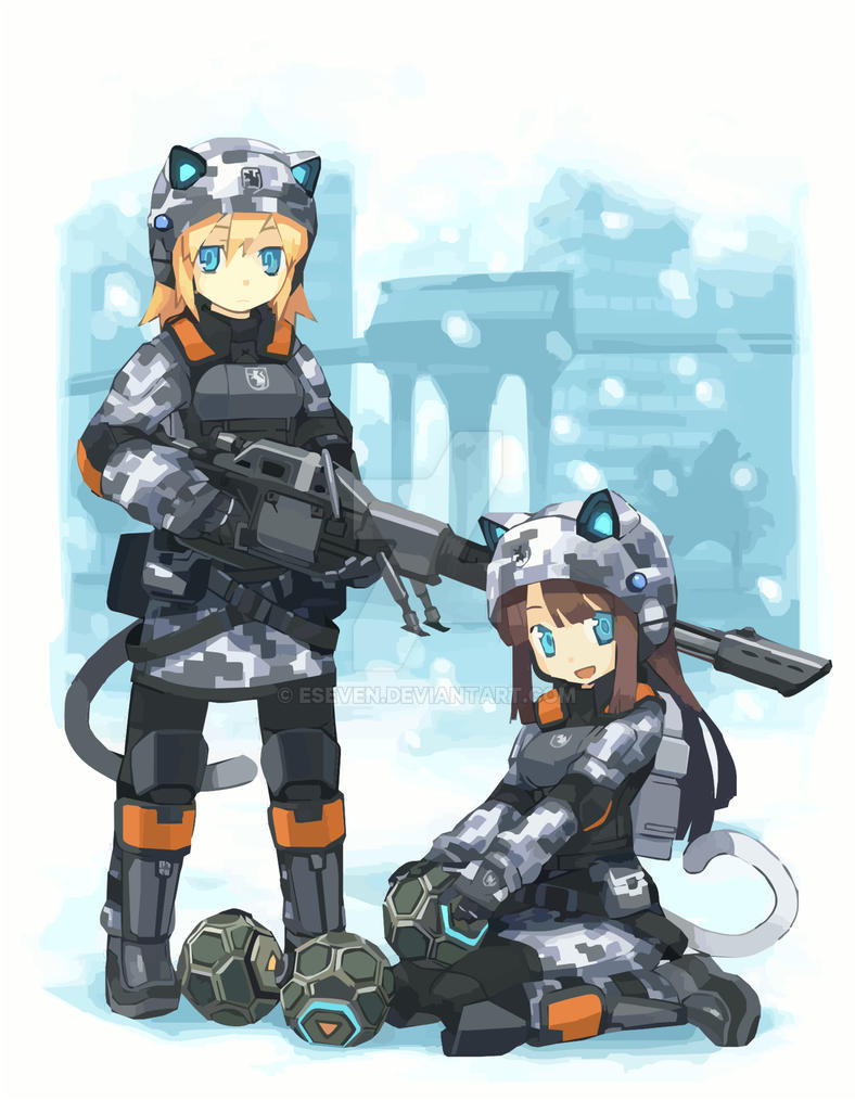 Battlefield 2142 eu catgirls by eseven on deviantart battlefield 2142 eu catgirls by eseven voltagebd Gallery