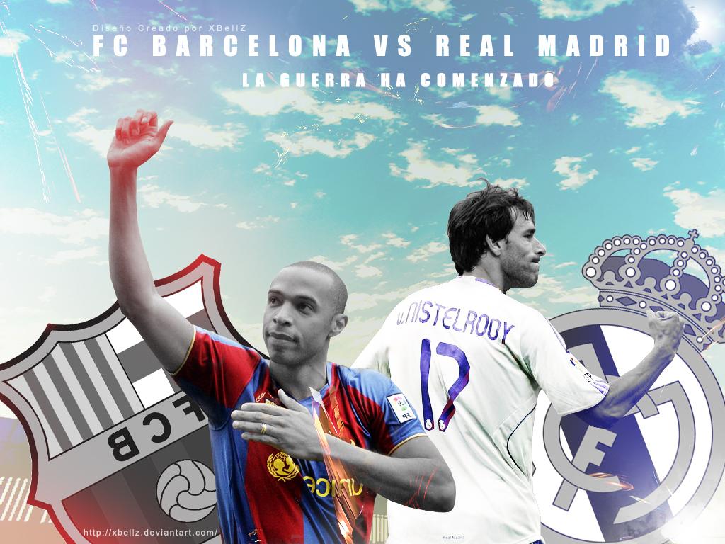 Barcelona vs RealMadrid by Xbellz