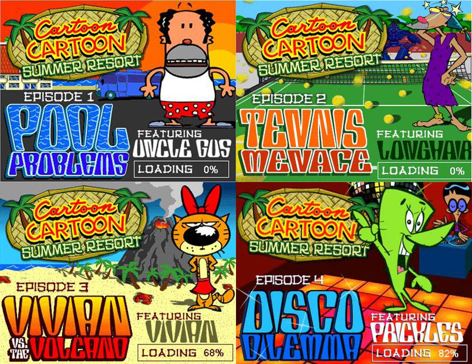 cartoon cartoon summer resort episodes by smokeyandthebandit on deviantart
