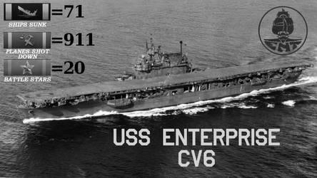 USS Enterprise CV6
