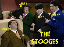The Three Stooges - Hold That Lion (Color)