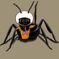 Atom Ant: behind the custome. by JCMaziu