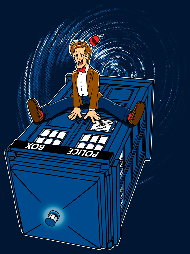 The Doctor or How I learned to love the Tardis. by JCMaziu