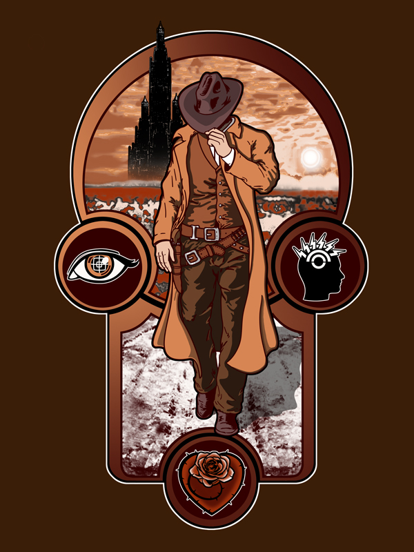 The gunslinger's creed. by JCMaziu