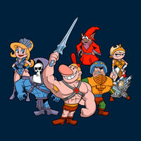 Masters of the Grimverse by JCMaziu