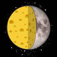 A cheesy moon.