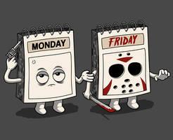 From sad monday to maniac friday.