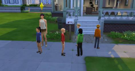Kids next door sims4 version
