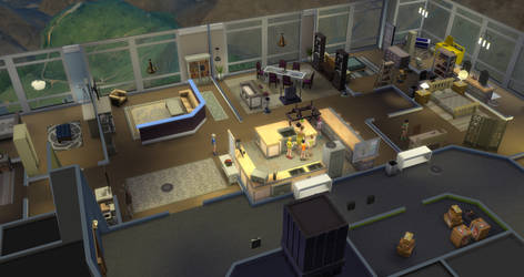 Colt and lucian penthouse appartment in sims4
