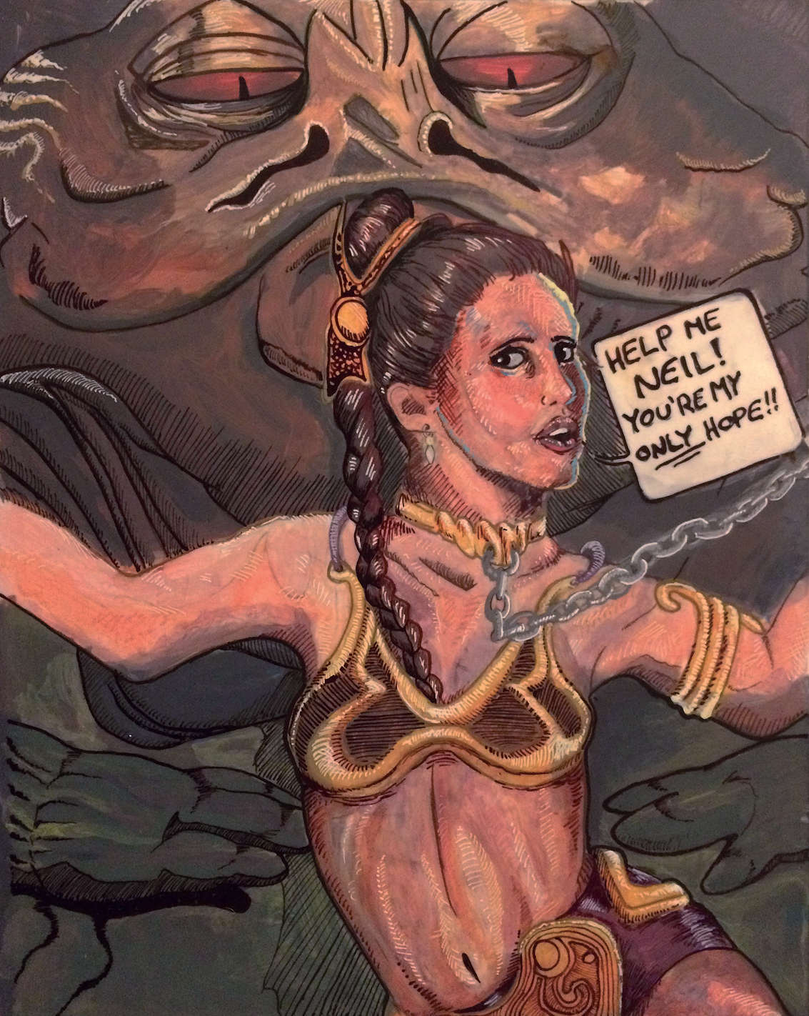 Princess Leia by K0NIGWULF on DeviantArt