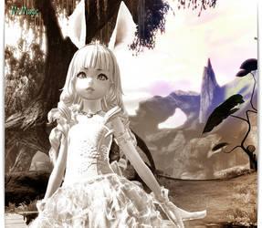 Popyh Elin sorcerer My pj 03 by MelindartMagic