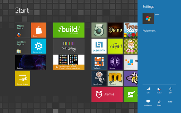 Windows 8 Dark Metro Theme by firefoxdude