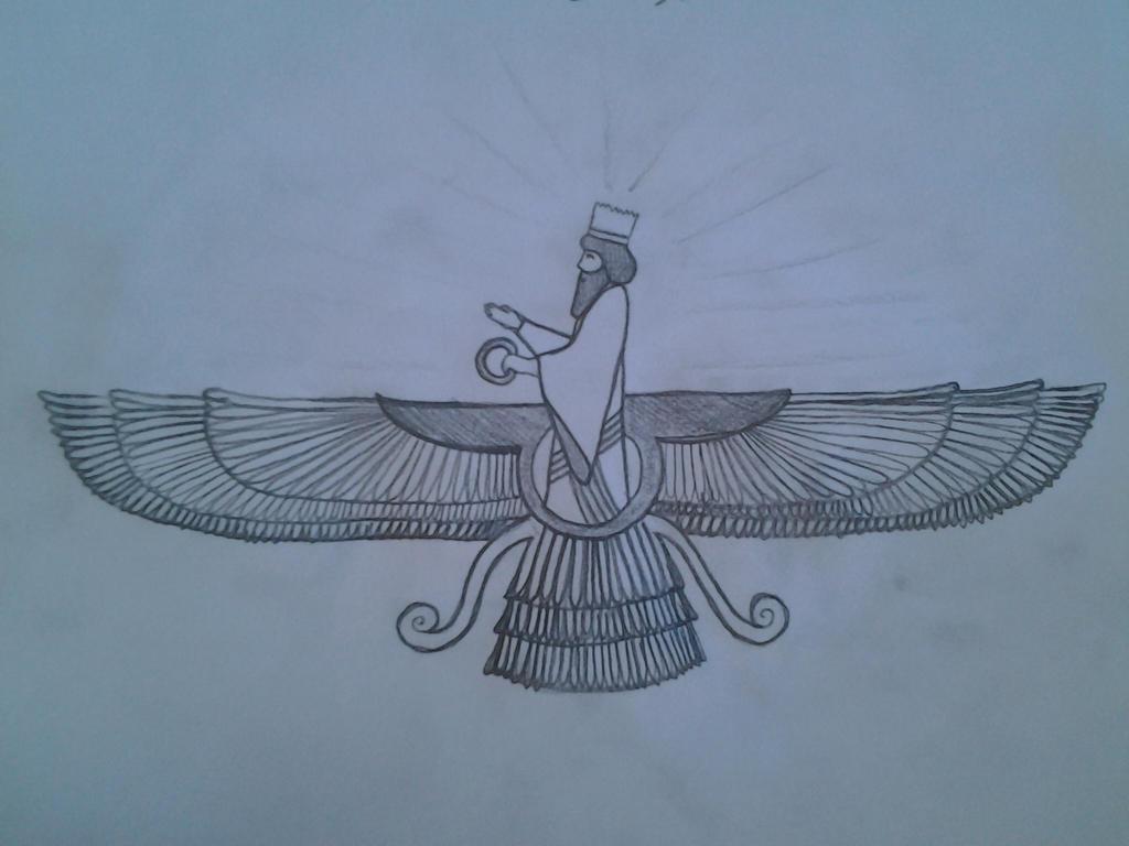 Zarathustra Symbol by MehranPersiaZarathustra Symbol