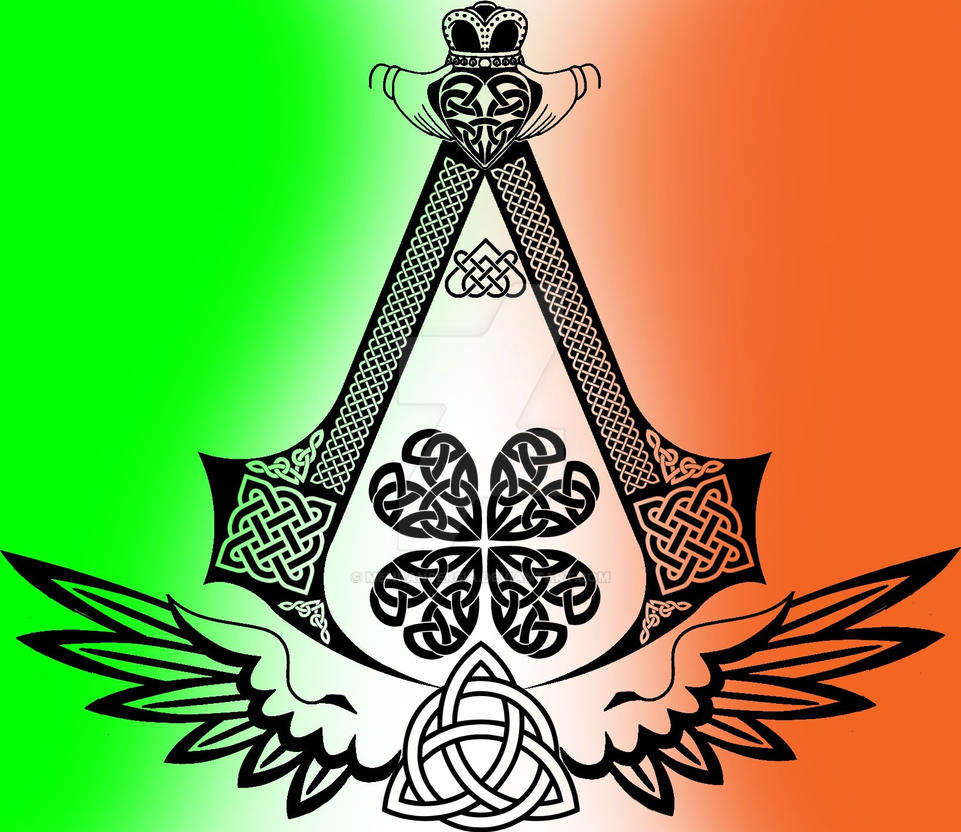 Irish Assassin Symbol by MehranPersia