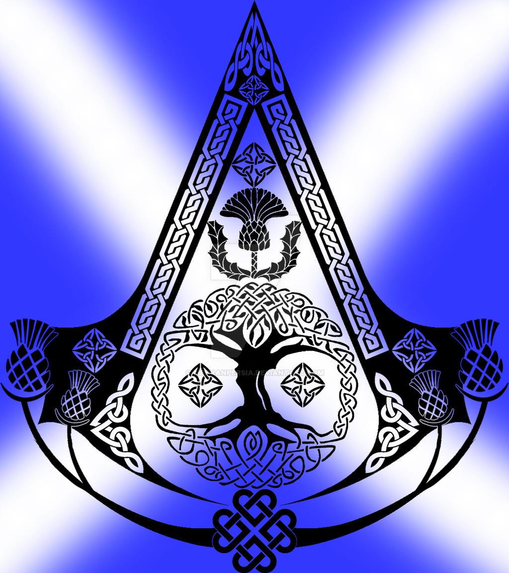 Scottish Assassin Symbol By Mehranpersia On Deviantart
