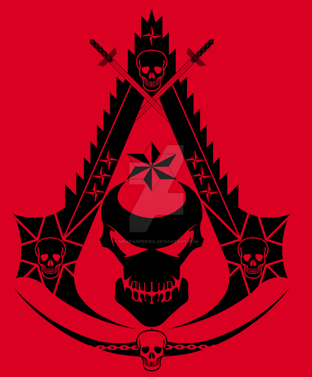 death assassin symbol by mehranpersia on deviantart