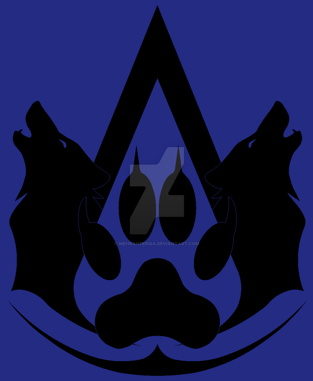 wolf assassin clan symbol by mehranpersia on deviantart