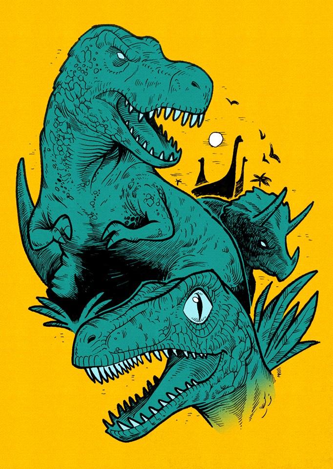 Dinosaurs by MarKomik