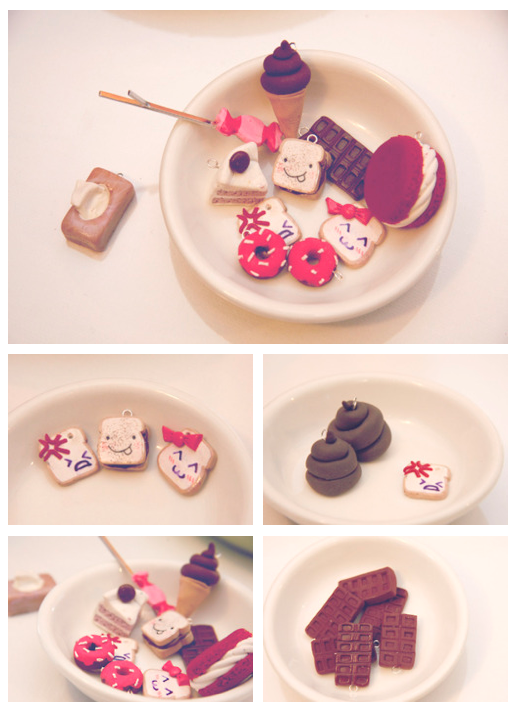 Sculpey Treats by A-Cheek