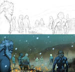 Thor page 26-27 panel 1 detail