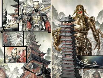 S.H.I.E.L.D. 1 pages 13-14 by CeeCeeLuvins