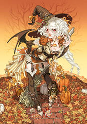 Garnet's late Halloween by CeeCeeLuvins