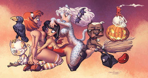 Chris Sanders Witches piece by CeeCeeLuvins