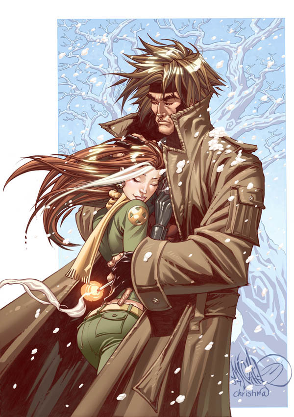 Part 14 / 9 Gambit_and_Rogue_Print_by_CeeCeeLuvins