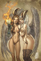 Angelus Witchblade Jay Company by CeeCeeLuvins