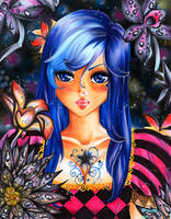 Libras psychic eyes by Irreeltal