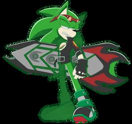 Sonic Rider Scourge by cassidythehedgehog1