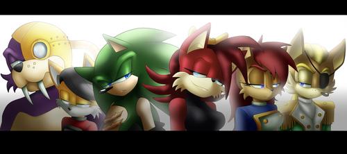 Suppression Squad by cassidythehedgehog1