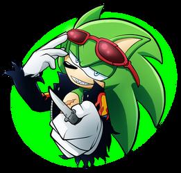A Green Prick by cassidythehedgehog1