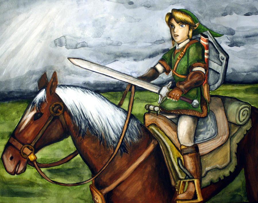 Link and Epona 1