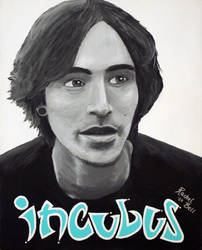 Brandon Boyd of Incubus by herbalcell