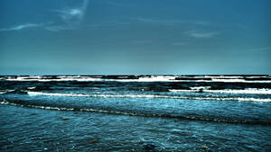 Ocean at dusk by herbalcell