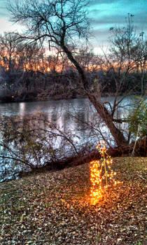 Christmas on the river
