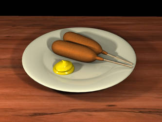 Corndogs, why not?