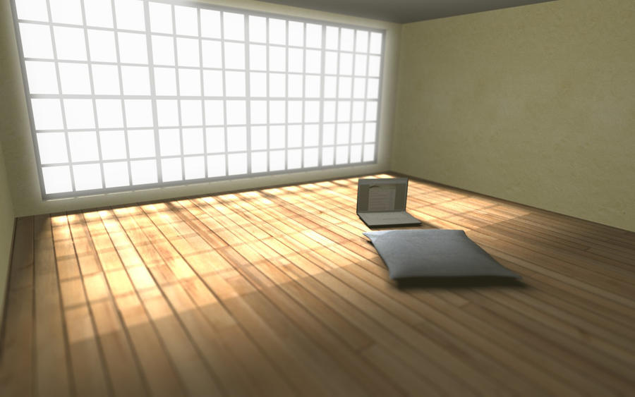 Minimalist room by herbalcell