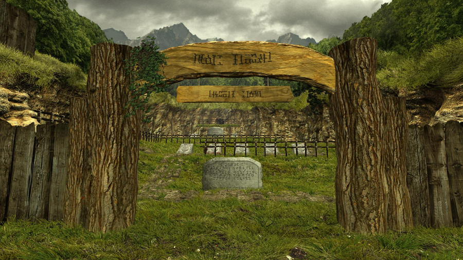 Ocarina of Time graveyard revisited by herbalcell