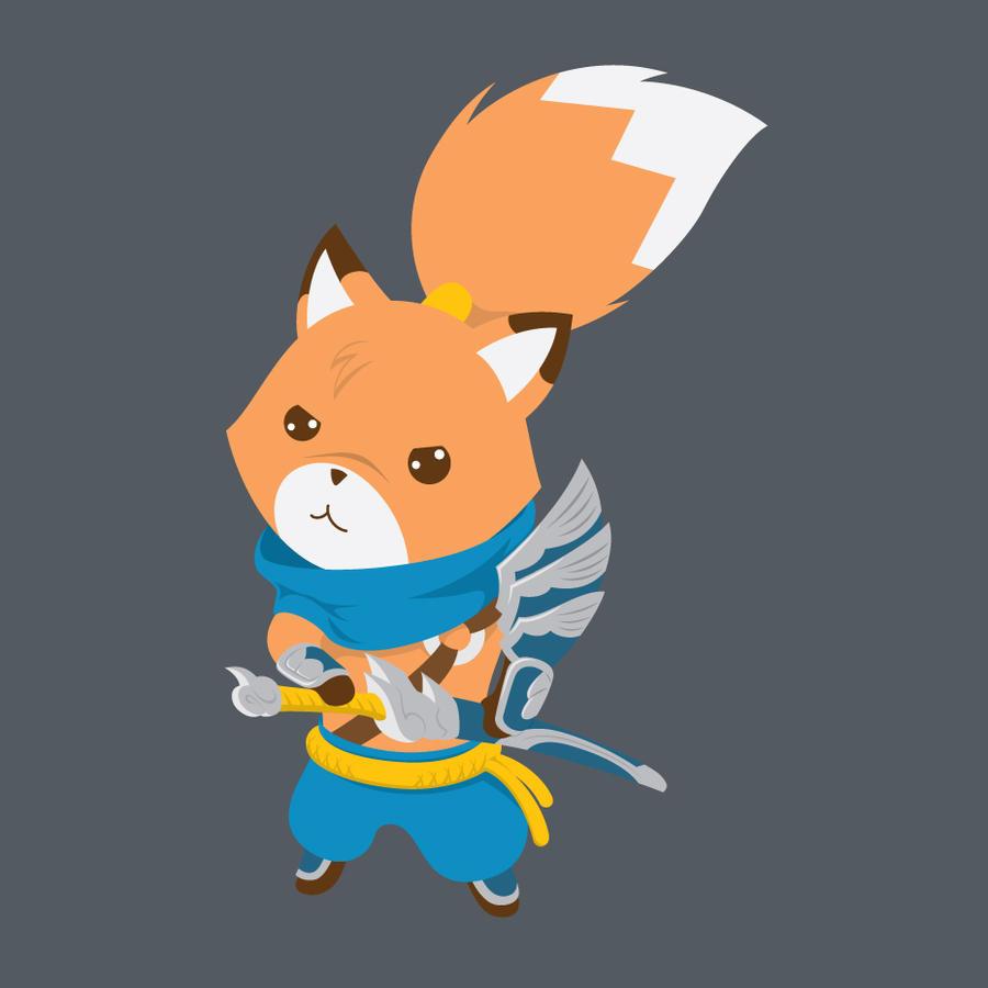 Fox Yasuo by temperolife
