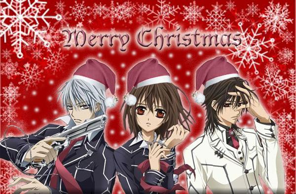 Vampire Knight Christmas Pic. by Akasha-de-Vampirouge on DeviantArt