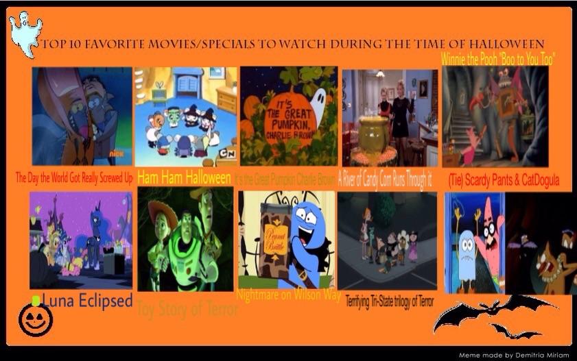 My Top 10 Favorite Halloween Specials by DoraeArtDreams-Aspy on ...