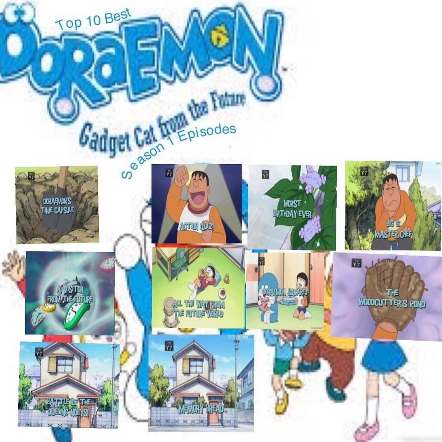 My Top 10 Best Season 1 Doraemon English Episodes By
