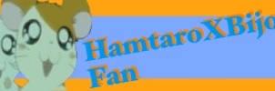 HamtaroXBijou Fan Button