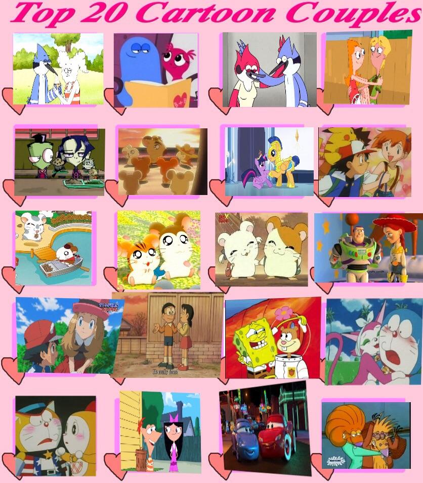 My Top 20 Best Cartoon Couples by DoraemonFan4Life on ...