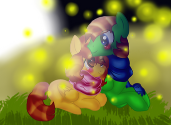 Me and Ryan's 1 Month Anniversary by DoraeArtDreams-Aspy