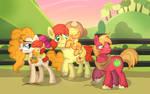 An Apple Family Walk