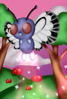 Butterfree by DoraeArtDreams-Aspy