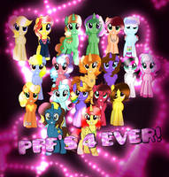 My PFF's 4 Ever! by DoraeArtDreams-Aspy